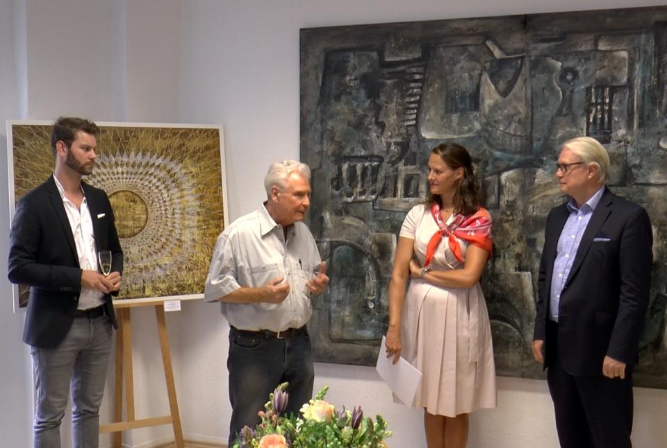 vlnr: Florian Braun MdL, Dieter W. Höhn, Christina Kreuzberg, Karsten Möring MdB